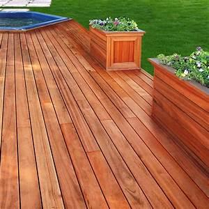 Lame Terrasse Bois Exotique : lames terrasse bois exotique muiracatiara tiger wood ~ Dailycaller-alerts.com Idées de Décoration