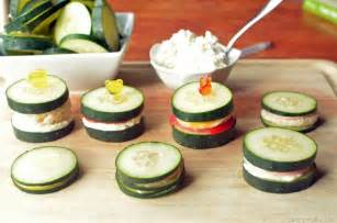 Cucumber Sandwiches Inside Out