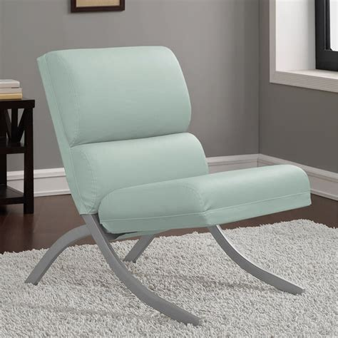 rialto aqua bonded leather chair free shipping today