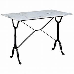 Table Marbre Rectangulaire : table bistrot en marbre ref 1378 bourges ~ Teatrodelosmanantiales.com Idées de Décoration