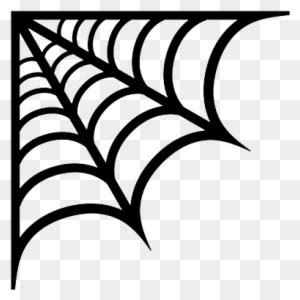 spider web corner spider web vector  transparent