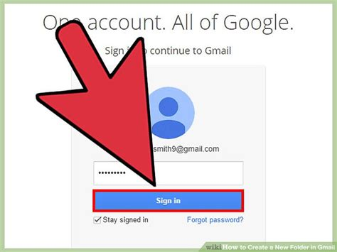 How To Create A New Folder In Gmail (with Pictures) Wikihow