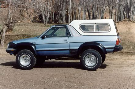 subaru brat baja you could always take a baja the extreme route i have