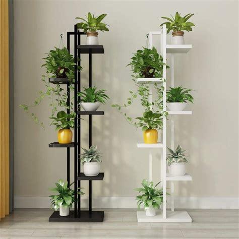 ide inspirasi rak tanaman hias bahan besi