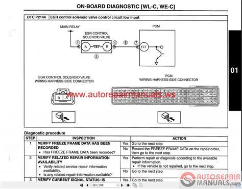 ford ranger   service repair manual auto repair
