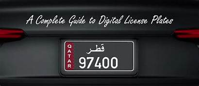 Plates License Guide Plate Simple Vehicle Vehicletracking
