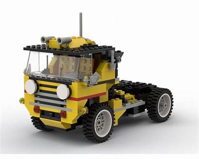 Cabin Moc Tiltable Cab Rebrickable Lego Bricksafe