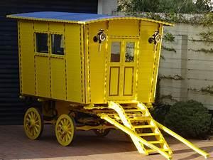 Unique children's playhouse gypsy caravan Ashbow Techniques
