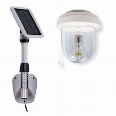 Gama Sonic Light My Shed Iv Solar Shed Light Clear Outdoor