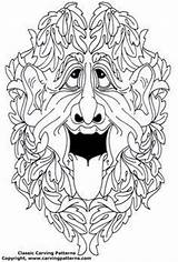 Patterns Pattern Green Coloring Colouring Knockers Drawings Door Doodle Glass Figureheads Carvings Ship Wood Tangle Embroidery Pages Line Stained sketch template