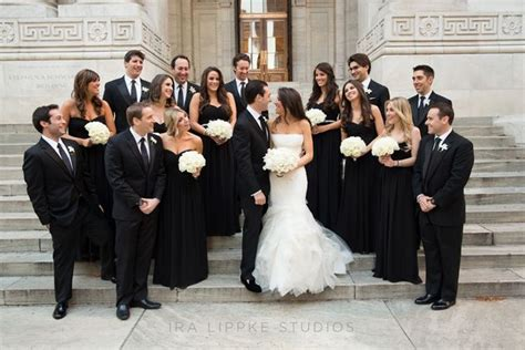 a sophisticated black tie wedding at new york s gotham hall wedding photos wedding black