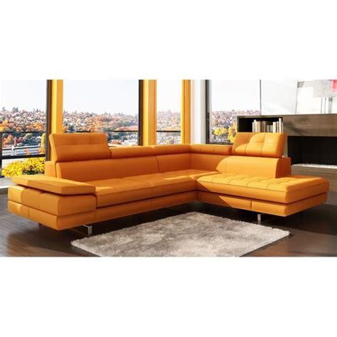 canape d angle orange mobilier table canapé d angle orange