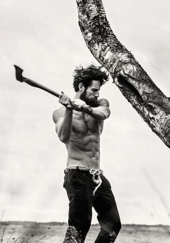 lumberjack  real man   jenika snow