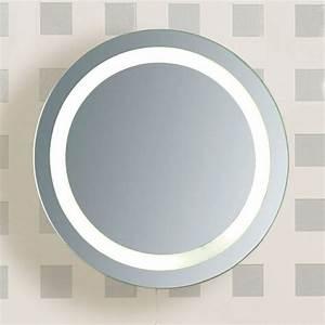 Miroir Rond Salle De Bain : miroir salle de bain lumineux castorama 7 miroir rond ~ Nature-et-papiers.com Idées de Décoration