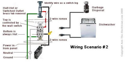 Dishwasher Hose And Wire Diagram by Disposal Wiring Diagram Electricidad Electrical Wiring