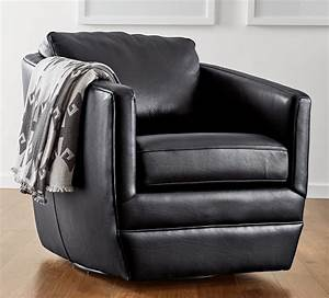 A, Modern, Leather, Swivel, Chair, That, Looks, Right, At, Home, In, Any, Space, Ford, Works, Equally, Well, To