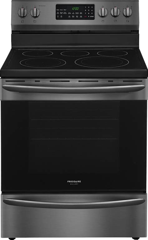 frigidaire gallery launches  smudge proof black