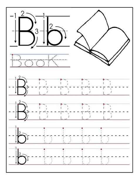 Letter Tracing Worksheets Free  Trace The Letters