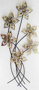 New contemporary metal wall art decor or sculpture amber