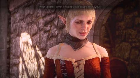 Dragon Age Inquisition Femquisitor Elf And Sera Sex