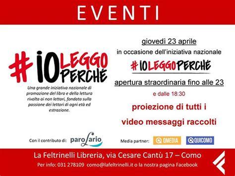Libreria Feltrinelli Como feltrinelli como celebra i libri per la giornata mondiale
