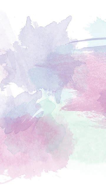 pink lavender mint watercolour brushstrokes desktop