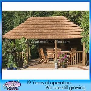 Toit En Paille : plastique d corative tuiles de toiture synth tique de ~ Premium-room.com Idées de Décoration