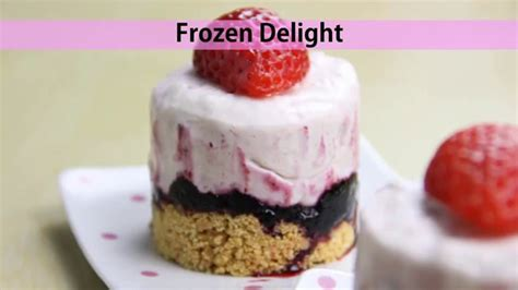 vegetarian desserts easy recipes frozen delight recipes for