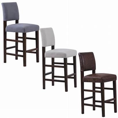 Bar Stools Chairs Upholstered Backs Velvet Bridger