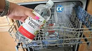 Comment Nettoyer Lave Vaisselle : nettoyer lave vaisselle vinaigre blanc jean marie art ~ Melissatoandfro.com Idées de Décoration