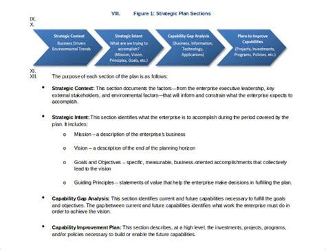 strategic business plan template 16 strategic plan templates pdf doc free premium templates