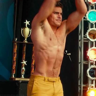 Efron Zac Shirtless Dirty Grandpa Trailer Gifs