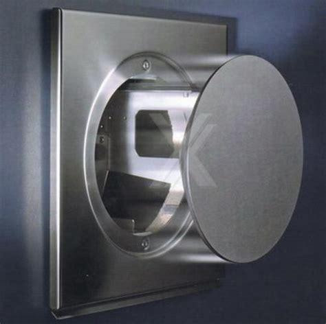 Mauerkasten Ø150 Edelstahl Abluft Dunstabzug Elektrisch