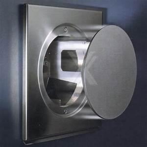 Mauerkasten o150 edelstahl abluft dunstabzug elektrisch for Abluft dunstabzug