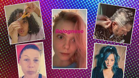 yara shahidi pink   stars give  diy haircuts  quarantine entertainment