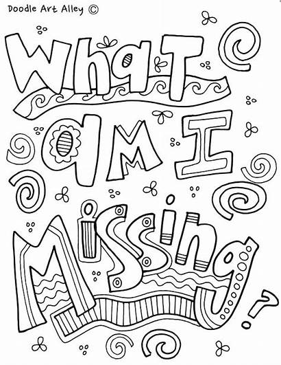 Coloring Pages Mindset Self Growth Classroom Esteem