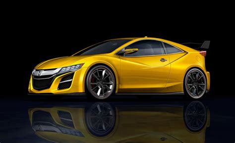 2018 Honda Cr-z Rendered, May Ditch Hybrid For New Turbo