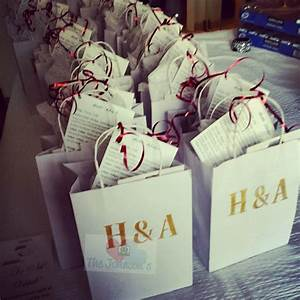 diy wedding welcome gift bags for out of town guests With wedding gift bags for out of town guests