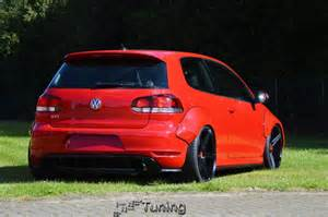 honda car detailing german tuner gives vw golf gti 6 bolt on wheelarches