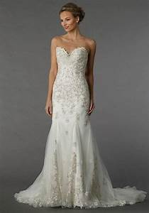dennis basso for kleinfeld gown with sweetheart neckline With dennis basso wedding dresses