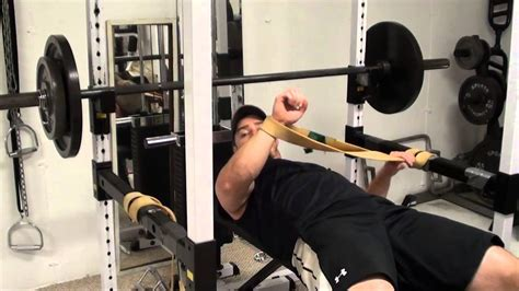 Get A Stronger Bench Press Lockout Fast With Lateral Band
