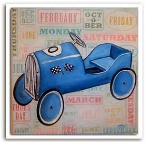 Retro Bebe Voiture : voiture bleu vintage boutique ~ Teatrodelosmanantiales.com Idées de Décoration