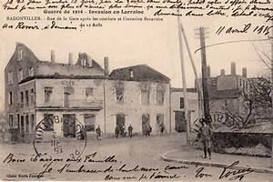 40 Rue De La Gare Rouffach : cartes postales anciennes de lorraine badonviller 54540 ~ Premium-room.com Idées de Décoration