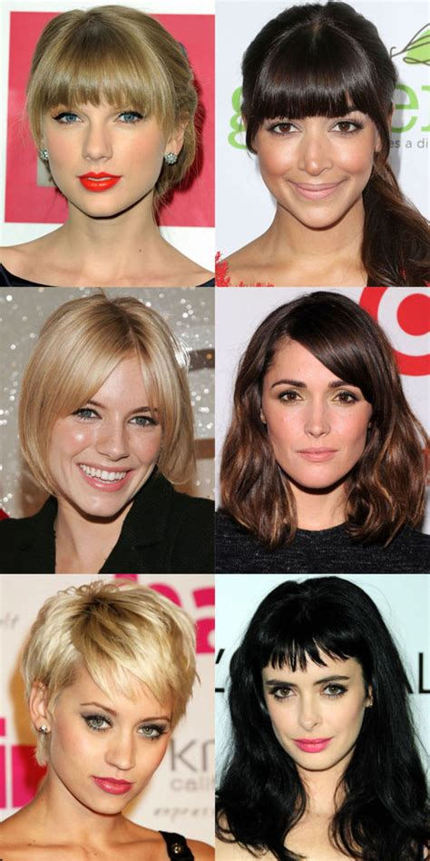 The Best (and Worst) Bangs for Oval Faces Beautyeditor