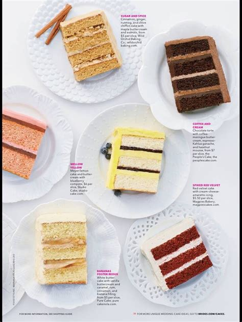 brides magazine cake flavors wedding cake cake