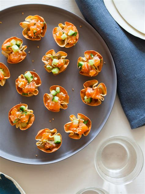 dip canapes 14 warm weather appetizers hgtv