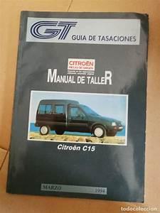 Manual De Taller O Reparaci U00f3n - Citroen C15  A U00f1