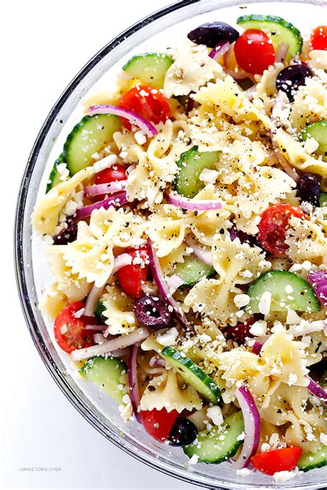 pasta salad dishes mediterranean pasta salad gimme some oven