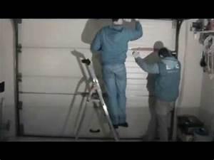 Remplacement facile d39un ressort de porte de garage casse for Ressort de traction porte de garage