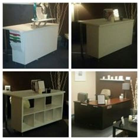 reception desk ikea hack reception desks billy bookcases and malm on